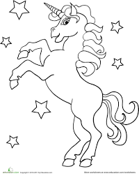 unicorn printable coloring page omeletta me
