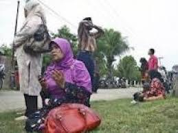 Foto Situasi Gempa Denpasar Bali 13 Okober 2011