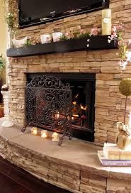 How To Interior Design My Home Decorating A Stone Fireplace Design24483264 Decorating A Stone