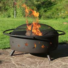 Backyard Grill Fdl by Wood Burning Fire Pits Cast Iron Steel Metal Copper