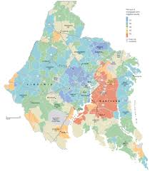 Crime Map By Zip Code by Delinquent Mortgages In Washington Area The Washington Post