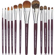 makeup brush set 12 piece classic pro london brush company
