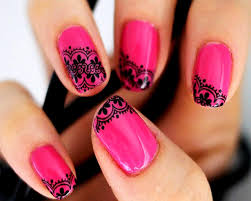 crazy french nail art designs wallpaper latest free 1280x1024