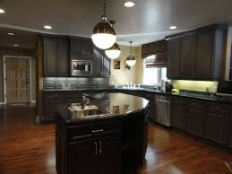 Oak Kitchen Cabinets Refinishing Painted Oak Cabinets Look Like Cherry