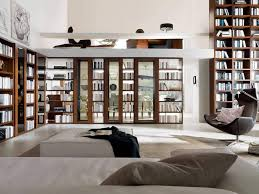 interior magnificent modern home library design inspiration