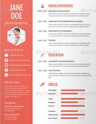 Free Creative Resume Templates Download  printable lined paper     Resume Template Info