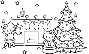 christmas stockings coloring pages to print coloringstar