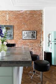 Fake Exposed Brick Wall 145 Best Bricks In The Decoration Images On Pinterest