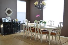 remodelaholic refinished dining room table and chair re