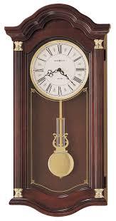 clockway howard miller lambourn quartz chiming wall clock chm1764