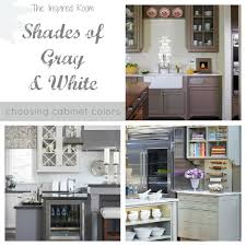 Kitchen Cabinet Colour Choosing Cabinet Colors Gray And White Pantry Ikea Freestanding