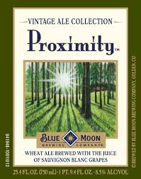 Blue Moon Proximity Wheat Ale