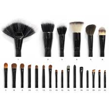 22 piece brush set luxury makeup brushes coastal scents