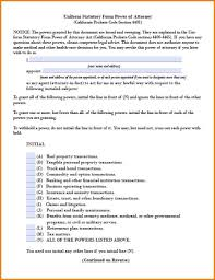 Durable Power Of Attorney Healthcare by 7 Power Of Attorney For Health Care Form California Attorney