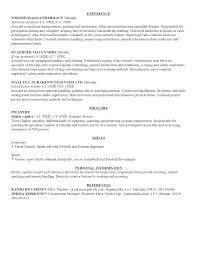 Resume Core Competencies Examples  cover letter resume personal     aaa aero inc us