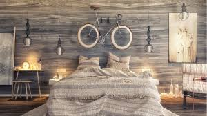 beautiful wooden wall design bedrooms that use the wood finish