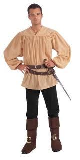 Mens Halloween Costumes Amazon Forum Novelties Men U0027s Extra Large Medieval Costume Shirt Beige