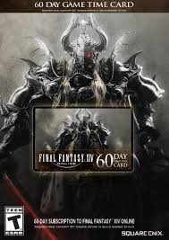 amazon com final fantasy xiv online 60 day time card online