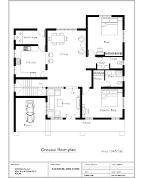stunning sq ft house plans bedroom n style ideas simple indian