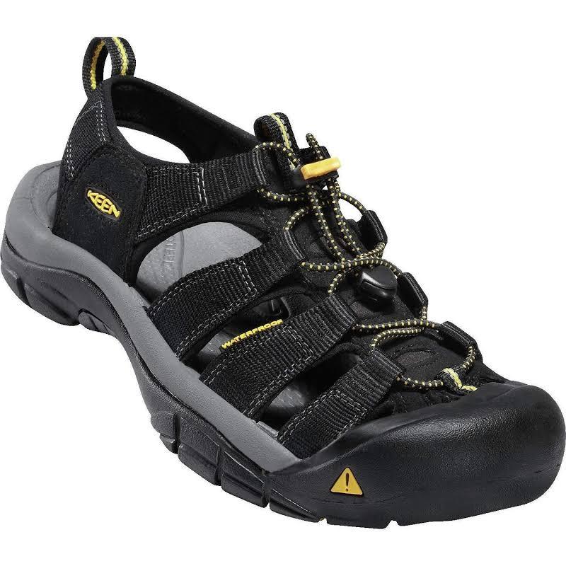 KEEN Newport H2 Sandal Black 8 US 1001907-1-8