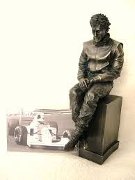 ayrton senna limited edition figurine by legends forever