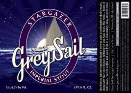 Stargazer GreySail Imperial Stout | Beer Street Journal