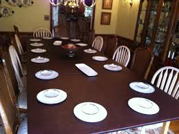 dining table top extension pad table top extender