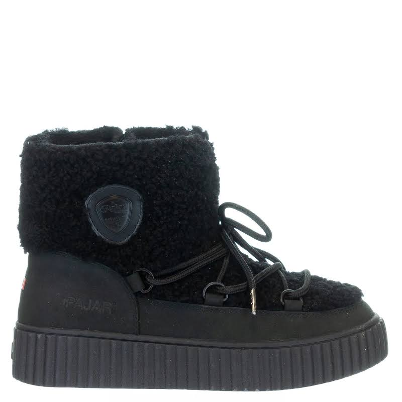 Pajar Ceria Shearling Waterproof Winter Boots Black 41 EU/10 US