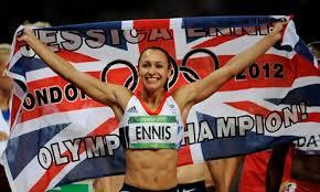 Jessica Ennis After Winning Gold