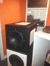 3 subwoofers home theater diy homemade subwoofer enclosure part 1 of 3 youtube