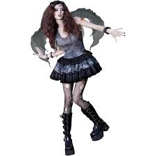 Halloween Costume Monsters Inc Zombie Fairy Teen Halloween Costume Walmart Com