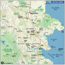 Street Map San Francisco by Map Of Marin U0026 Directions Maps U0026 Transportation Marin County