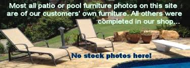 Brown Jordan Outdoor Furniture Repair by Patio Furniture Sling And Vinyl Replacements Pool And Outdoor