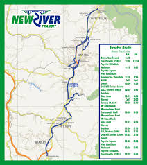 Greyhound Routes Map by Bus Schedules New River Transit Authority