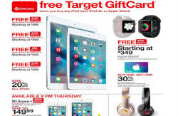target black friday 2017 gift card ipad air 2 tech times