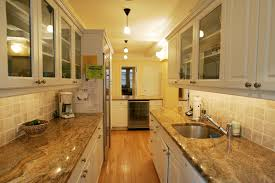 granite countertop kitchen cabinets wall ceramic mosaic tile