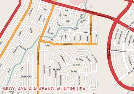 Ayala Alabang Village Philippine Map