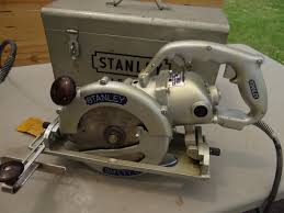 1950 stanley w8safety saw vintage antique electric circular saws