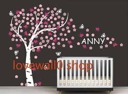 Tree Decal For Nursery Wall by Baby Room Wall Decals Names Baby Boy Nursery Wall Decals Vinyl