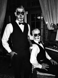 black tie skeletons bow tie bones dapper scary men u0027s