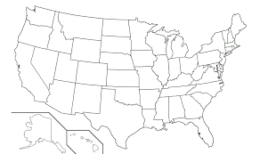 United States Map by United States Map Blank My Blog