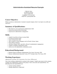 resume template a good objective for resume resume template good       a good