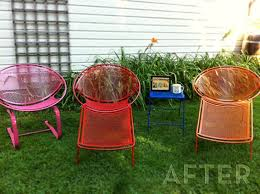 Best Painted Patio Furniture Images On Pinterest Garden - Colorful patio furniture