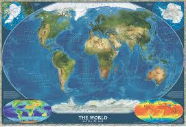 World Map Pinboard by Satellite World Map Wall Maps