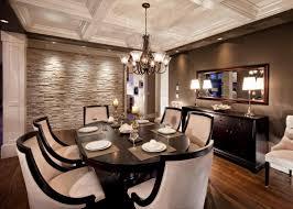 Chandelier Lighting For Dining Room Corner Standing Shelves Ergonomic High Back Chairs Brown Metal