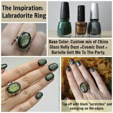 labradorite inspired nails nevertoomuchglitter nail wonderland