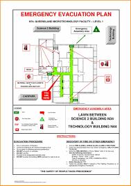fire evacuation map templates free printable fire escape plan