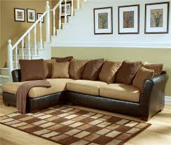 Ashley Furniture Sectionals Decor Amazing Ashley Furniture Replacement Cushions In Brown