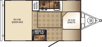 palomini travel trailers floorplans by forest river rv colonia