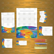 Business Card Eps Template Business Cards Templates Corporate Identity Vector Image 62723